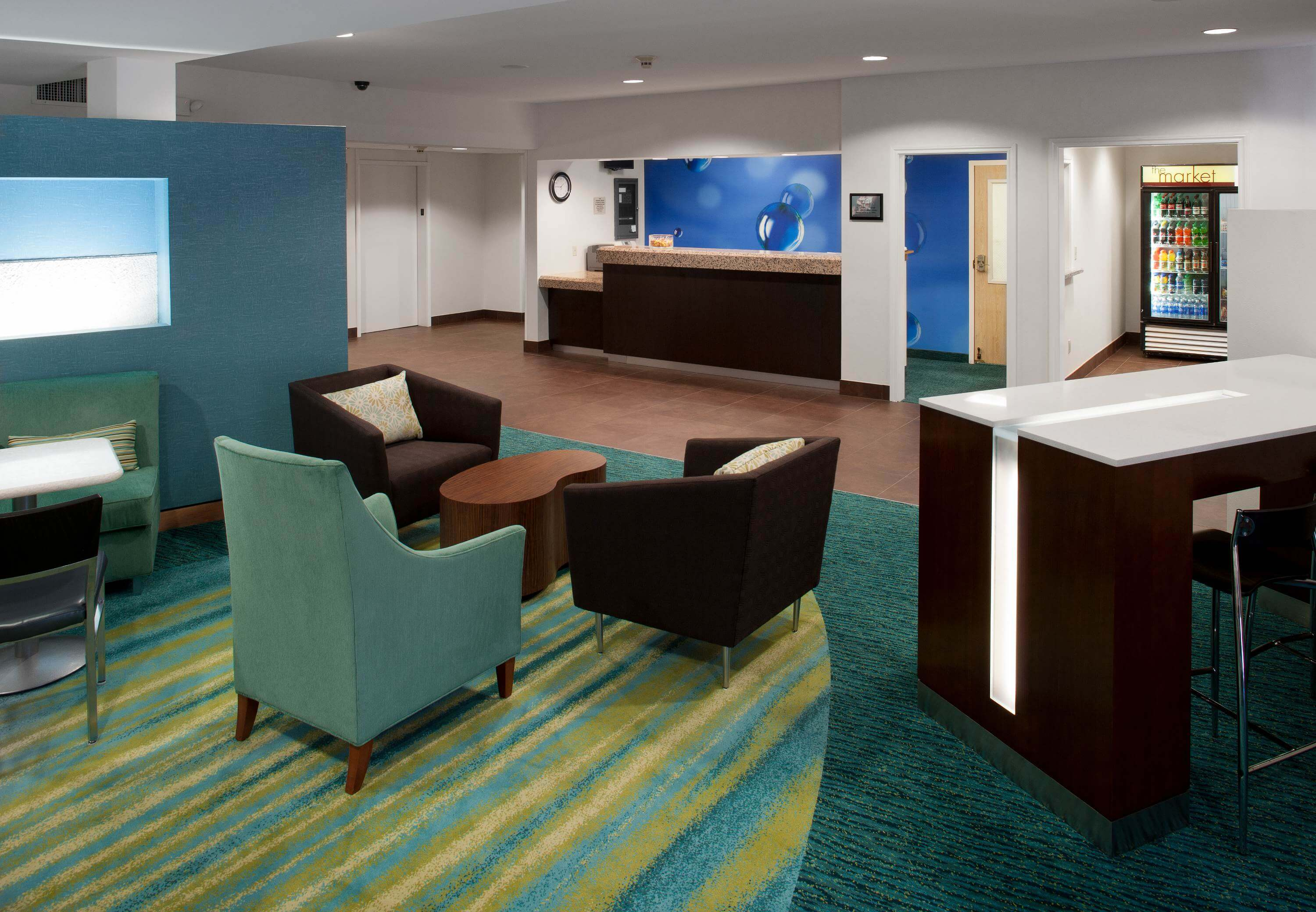 Springhill Suites by Marriott Dallas Arlington North - front desk